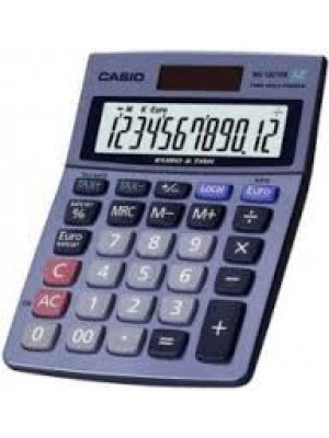 CALCULADORA CASIO 12 DIGITOS MS-120