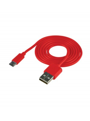 Cable USB (Android) Carga Y Datos Rojo