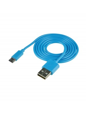 Cable USB (Android) Carga Y Datos Azul