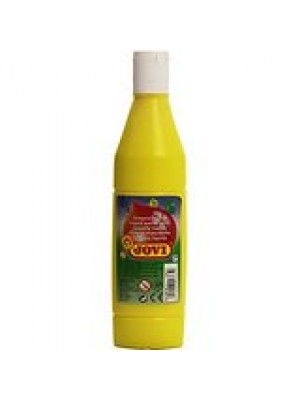 BOTELLA TEMPERA LIQUIDA  500CM3 JOVI COLOR AMARILLO CLARO