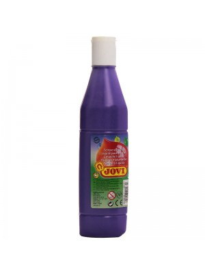 BOTELLA TEMPERA LIQUIDA  500CM3 JOVI COLOR VIOLETA