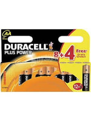 BLISTER PILAS ALCALINAS LR6 DURACELL 8+4