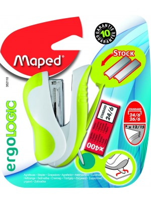GRAPADORA ERGO MINI MAPED+ CAJA GRAPAS 24/6