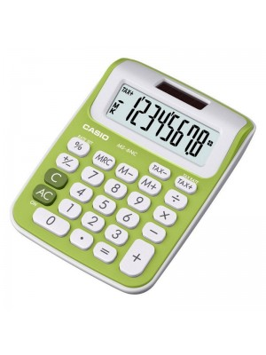 CALCULADORA CASIO MS-6NC-GREEN