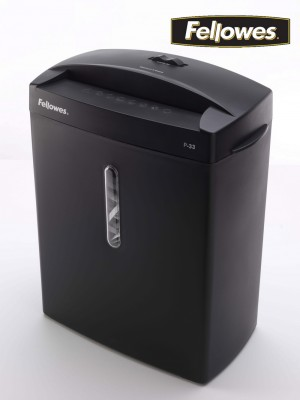 DESTRUCTORA P33 FELLOWES  TIRAS 6 MM .15 LITROS
