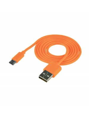 Cable USB (Android) Carga Y Datos Naranja