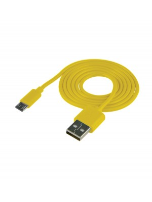 Cable USB (Android) Carga Y Datos Amarillo