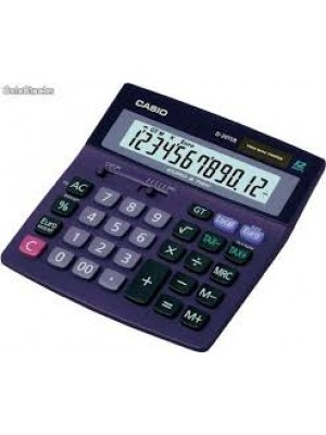CALCULADORA CASIO 12 DIGITOS  D-20 TER