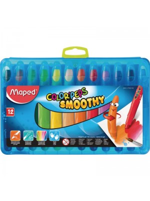 CAJA LAPICES SMOOTHY MAPED COLOR'PEPS  12u